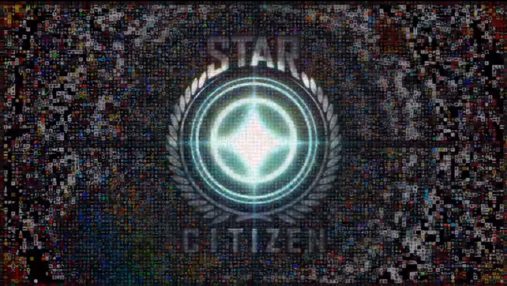 Star Citizen Organizations Mosaic from Citizen Con 2014